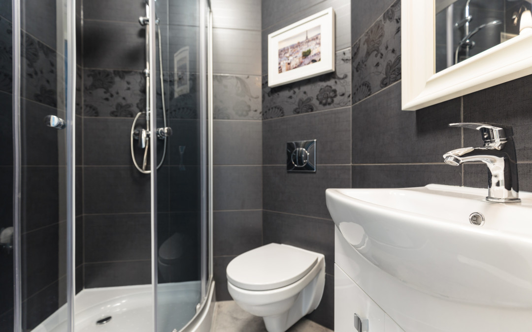 Timeless Elegance – The Black and White Bathroom